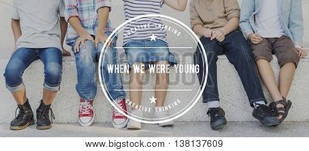 When Were Young Growth Childhood Concept