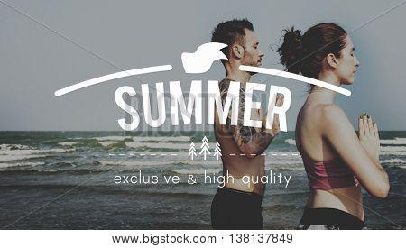 Summer Holiday Season Vacation Travel Warm Concept