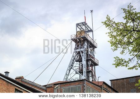 Mining Shaft. Coal Has Been Excavated On Silesia For Years.
