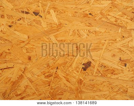 Industrial rough wood fiber board close-up Germany 2016