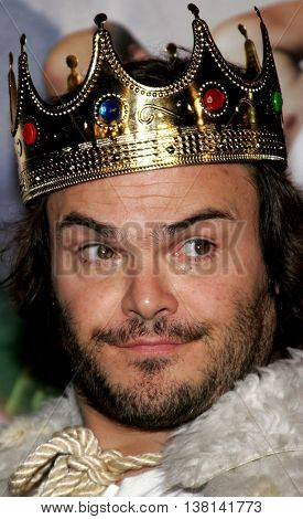 Jack Black at the Los Angeles premiere of 'Tenacious D: The Pick of Destiny' held at the Grauman's Chinese Theatre in Hollywood, USA on November 9, 2006.