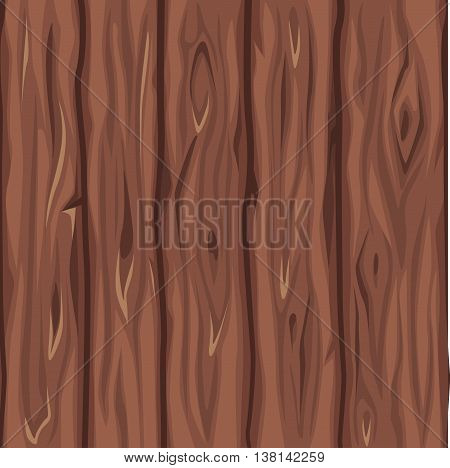 Wood texture old red board in vector