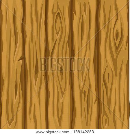 Wood texture old orange plank in vector