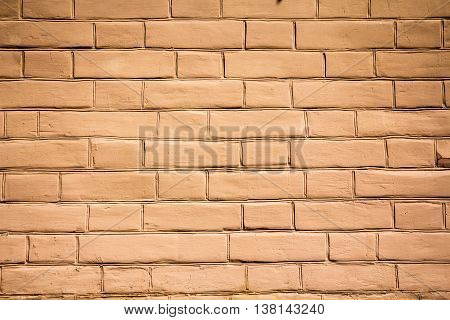 part of a beautiful brick masonry can be used as background