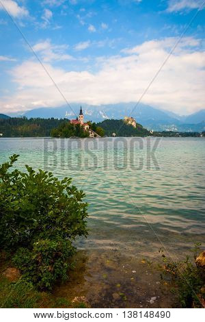 Bled Lake With Island, Slovenia