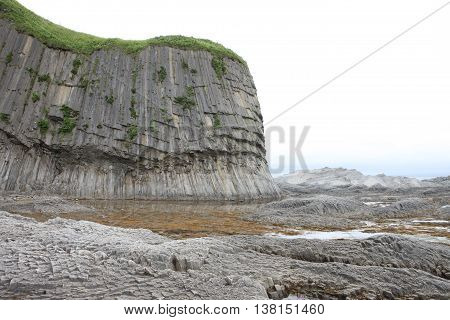 Kunasir Kurils Islands Rocks Russia