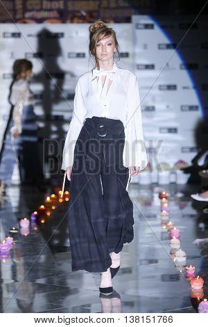 Fashion Week Zagreb : Sara Loncaric, Zagreb, Croatia.