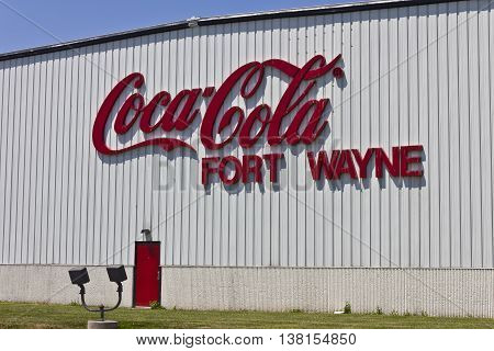 Ft. Wayne IN - Circa July 2016: Coca-Cola Bottling the World's Largest Beverage Company II
