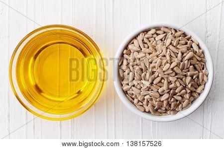 Sunflower Oil And Sunflower Seeds