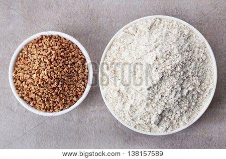 Buckwheat Flour And Buckwheat