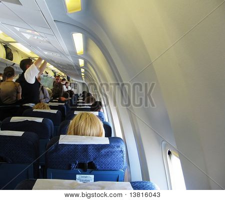 Carriage in aircraft