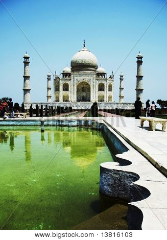 Taj Mahal decor