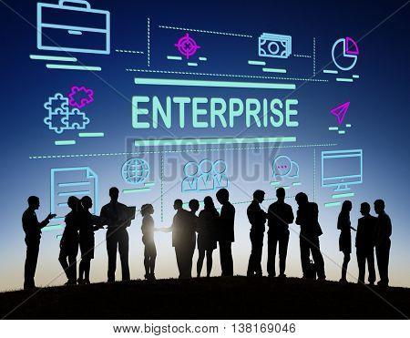 Enterprise Campaign Corporation Establishment Concept