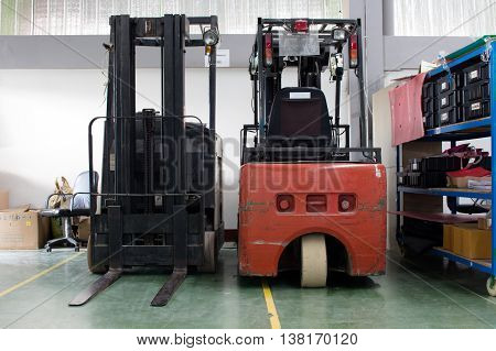forklift, small forklift, electrical forklift for industry.