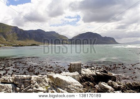 Pringle Bay beach Western Cape Province of South Africa