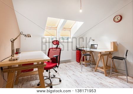 Study Room At The Attic