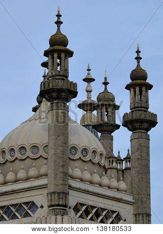 The Royal Pavilion (Brighton Pavilion) Roof Architecture