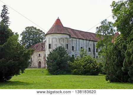 Erdody castle in Jastrebarsko Croatia was originally built in the late 15th century