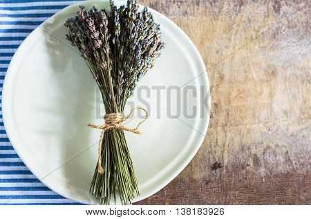 Rustic Style Table Setting