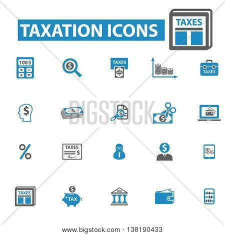 tax icons