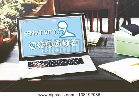 Sensitivity Allergy Disorder Sickness Healthcare Concept