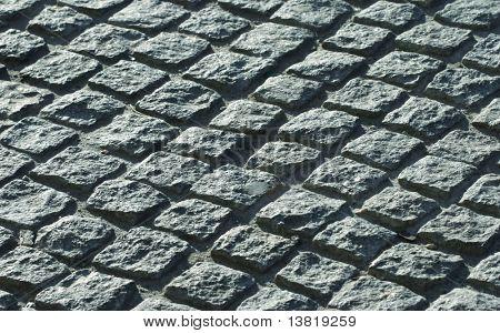 Stones roadway