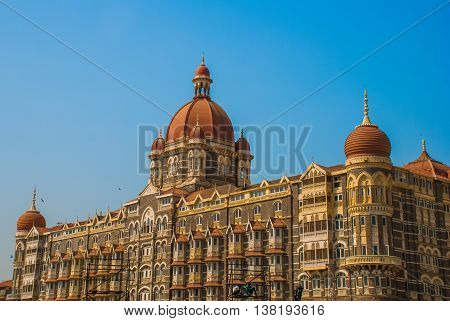 Taj Mahal Hotel. Mumbai, India