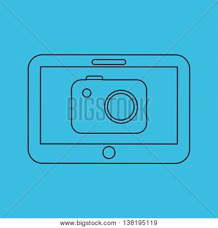 technology app ecommerce isolated, vector illustration eps10
