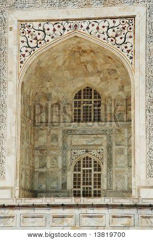 Taj Mahal palase elements