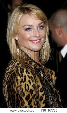 Elisabeth Rohm at the Los Angeles premiere of 'Stranger Than Fiction' held at the Mann Village Theatre in Westwood, USA on October 30, 2006.