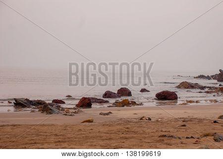 Arambol Beach, Goa State, India.