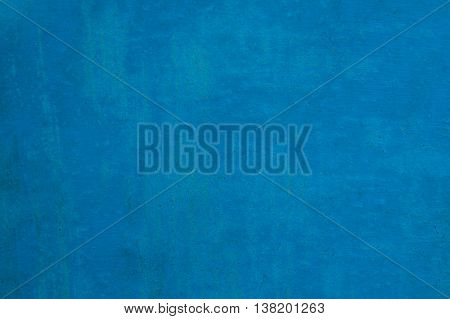 Paint Blue Metal Background