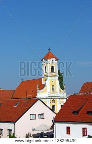 Church of St. Florian is a Baroque church in Varazdin Croatia