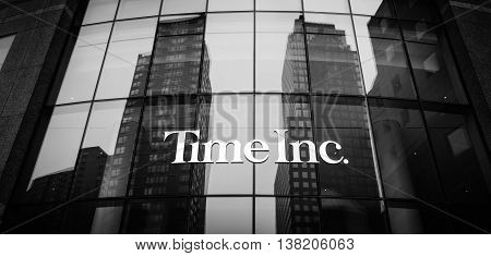 Time Inc. Headquarter In New York.