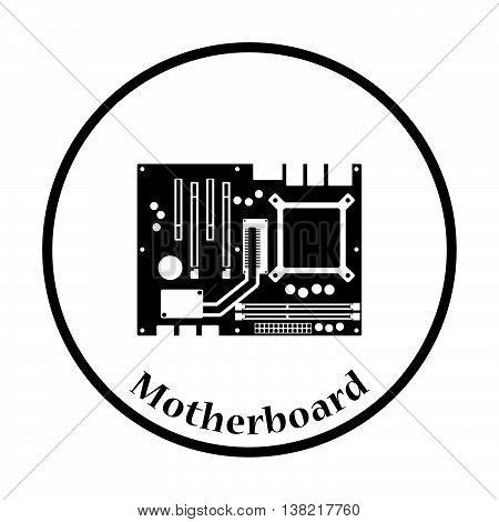 Motherboard Icon Vector Illustration