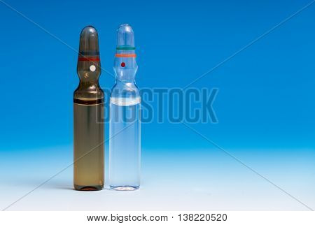 ampoule with medication