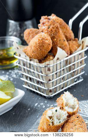 Bolinho De Bacalhau (cod Fish Croquete)