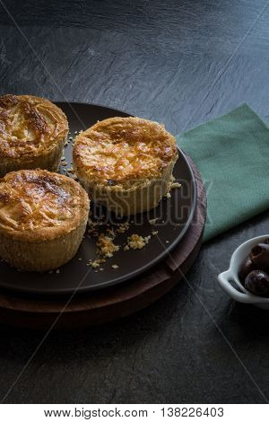 Empada De Palmito (palm Hearts Pie)