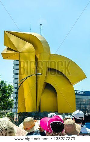 Caballito Sculpture, Mexico City