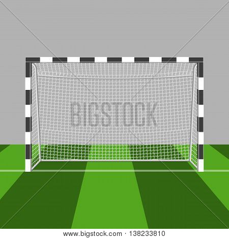 soccer gate vector illustration isolated on a white background