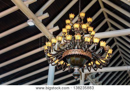 Chandelier In Soekarno-hatta International Airport