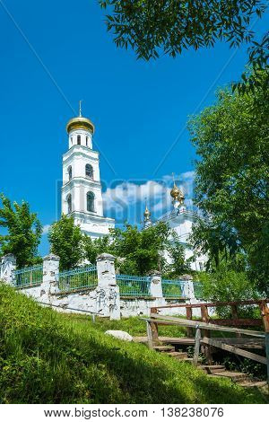 View Of The Transfiguration Church In The Town Of Shuya, Ivanovo Region, Russia.