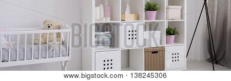 Bedroom Of A Newborn Child