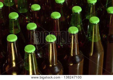 The best beer is homemade beer bottles