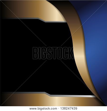 Abstract Blue background. vector modern background corporate concept illustration