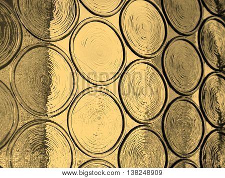Glass Picture Sepia