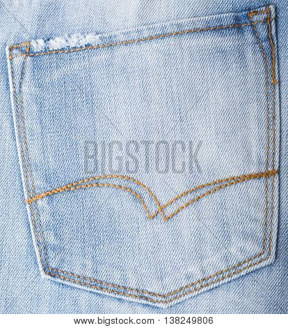 Close up of blue jeans ,Blue Jeans texture