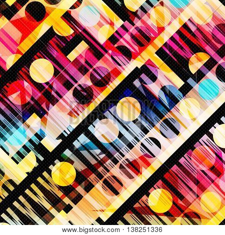 colored geometric abstract pattern vector illustration abstract high quality