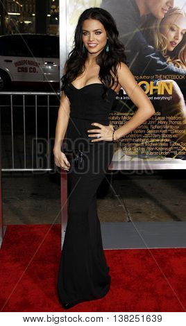 Jenna Dewan at the World premiere of 'Dear John' held at the Grauman's Chinese Theater in Hollywood, USA on February 1, 2010.