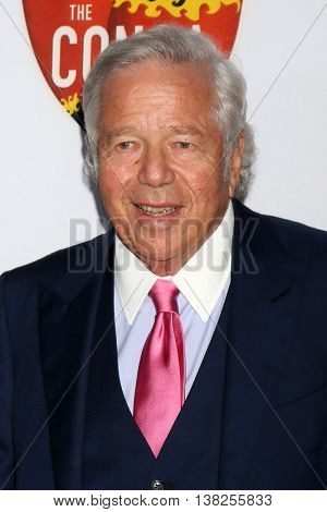 LOS ANGELES - JUL 12:  Robert Kraft at the 2nd Annual Sports Humanitarian Of The Year Awards at the Congo Room on July 12, 2016 in Los Angeles, CA